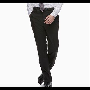 Apt 9 Black Modern Fit Dress Pants Lightweight 36